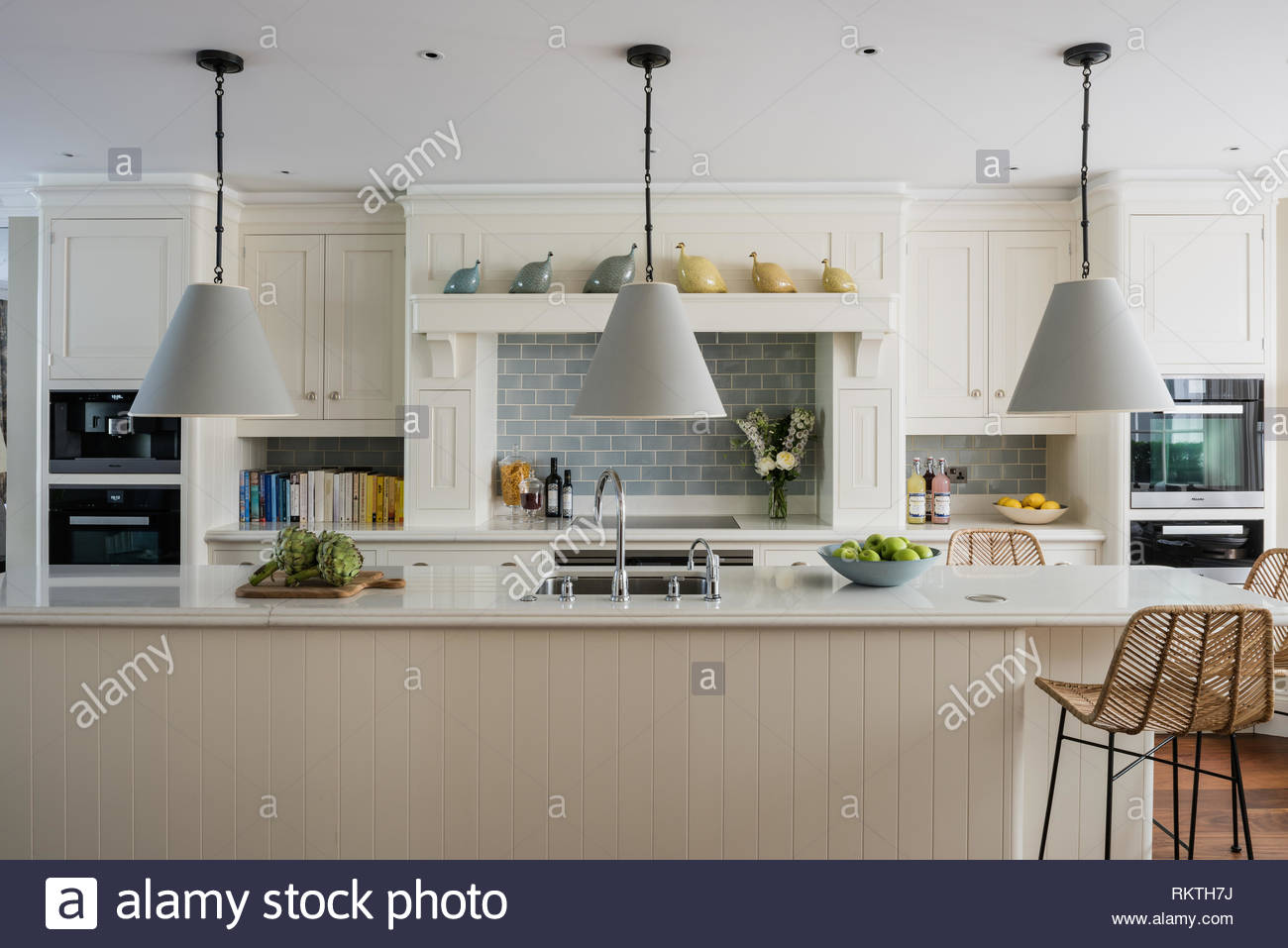 Lighting Design Kth Kitchen Tiles By Waterworks And Lighting By Circa Stock