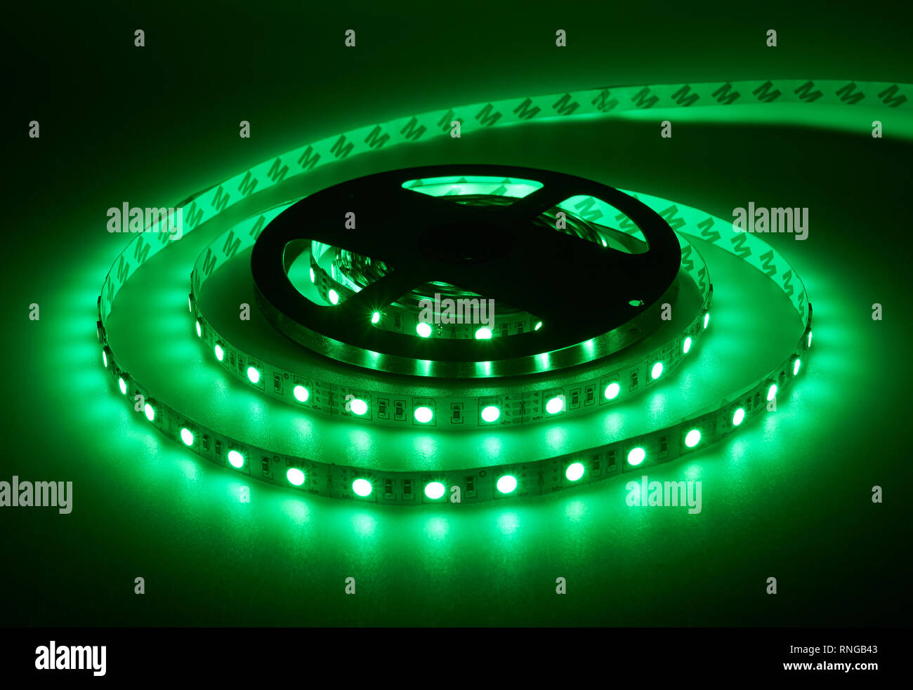 Diode Lighting Diode Strip Led Lights Tape Reel Stock Photo 237002531 Alamy