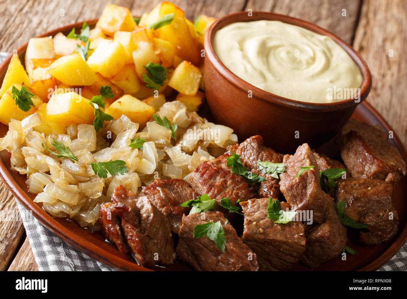 Classic Table Side Dishes Beef Rydberg Is A Real Classic Swedish Restaurant Dish Served With