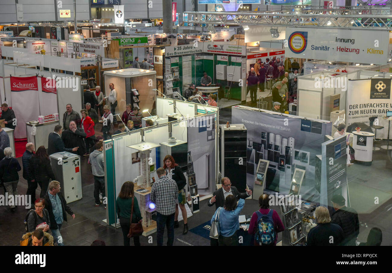Garten Leipzig Leipzig Germany 23rd Feb 2019 Overview Of Hall 5 At The