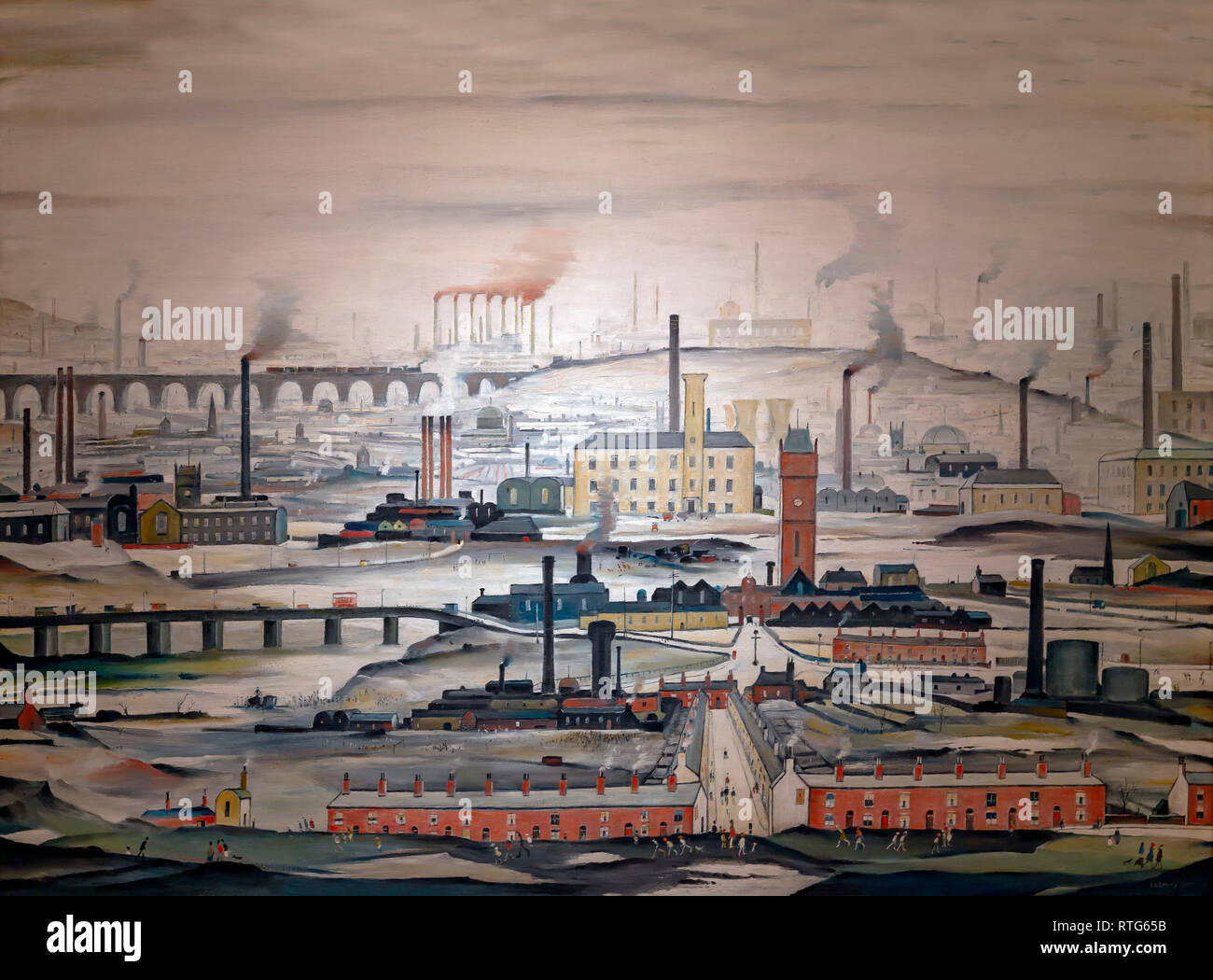Pittore Inglese Lowry Lowry The Painter Stock Photos Lowry The Painter Stock Images