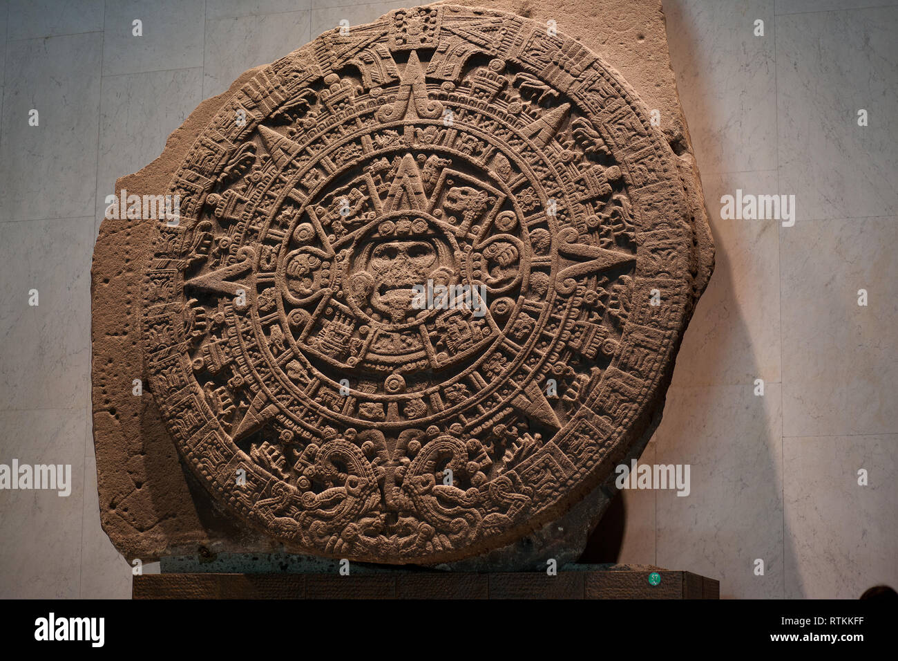 Kff Mexico The Aztec Sun Stone Spanish Piedra Del Sol Is A Late Post