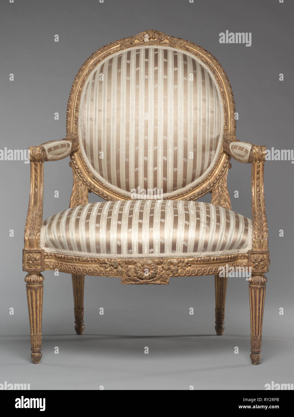 40 Fauteuils Pair Of Armchairs Fauteuils C 1765 Jean Baptiste Ii Tilliard