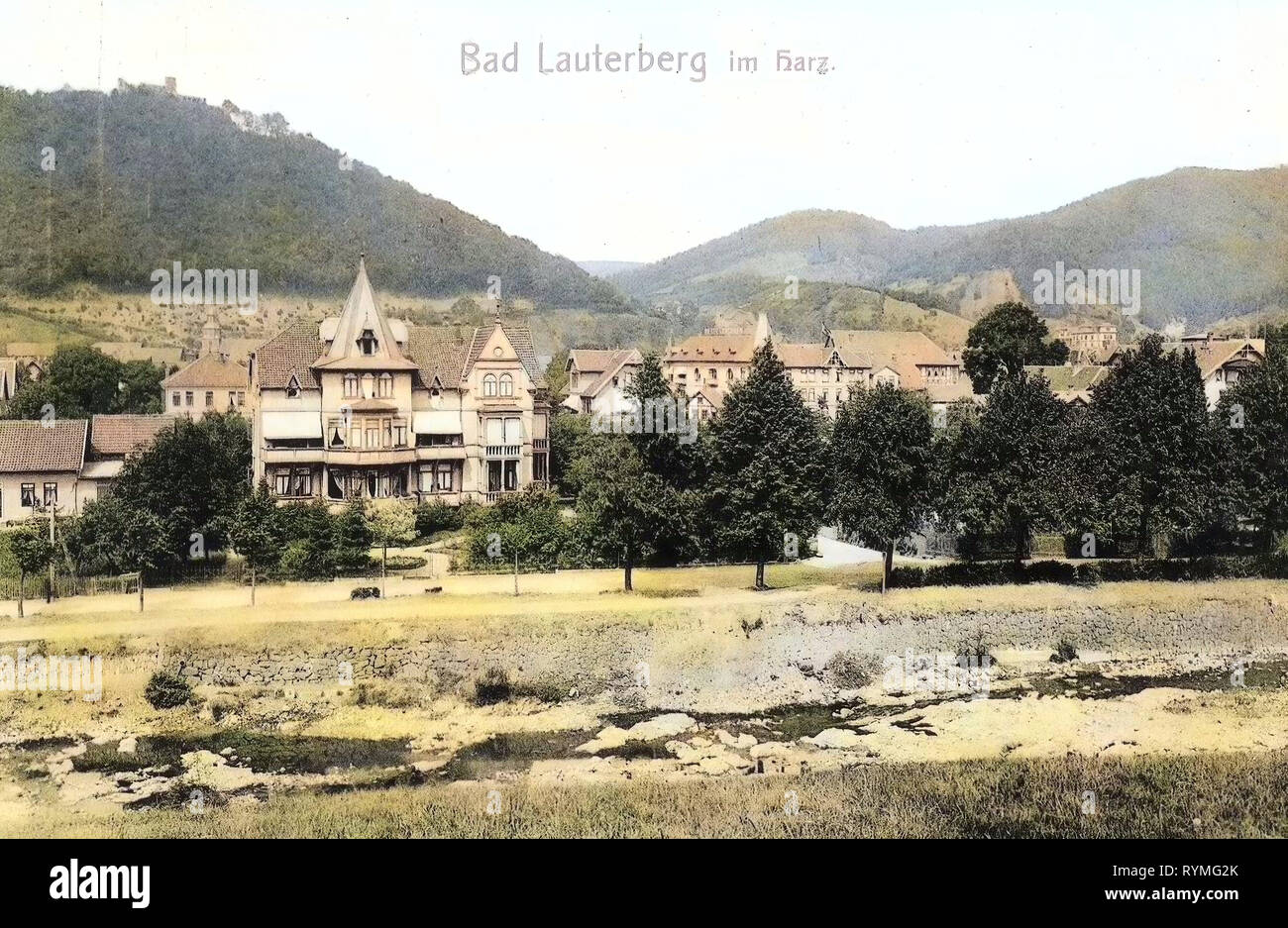 Bad Lauterberg Bilder Buildings In Lower Saxony Bad Lauterberg Im Harz 1907
