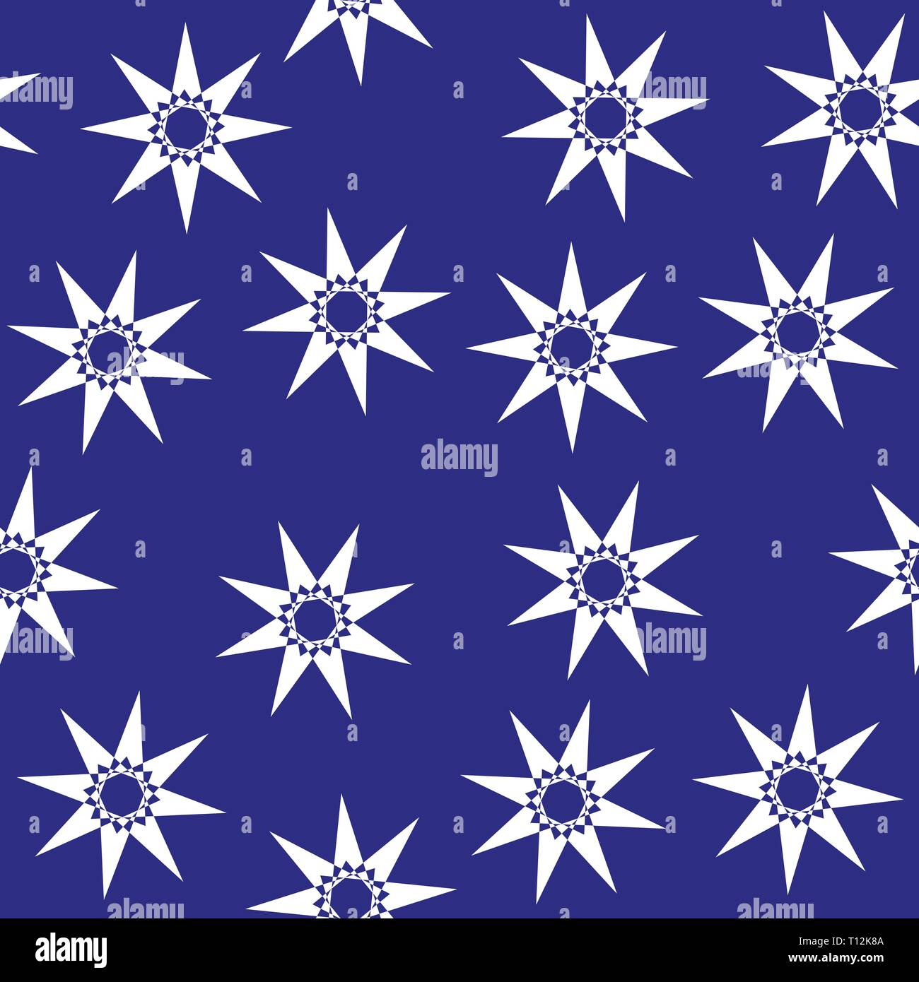 Stars Room Decor Cute Stars Seamless Pattern Nursery Illustration Good For Room