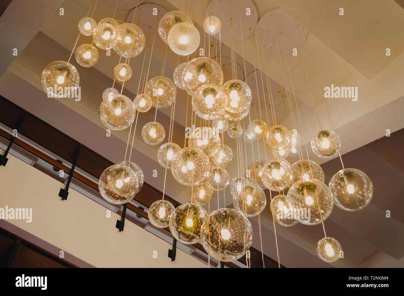 Lights Ceiling Ceiling Pendant Lamp With Beautiful Warm Lights Decorating Theater