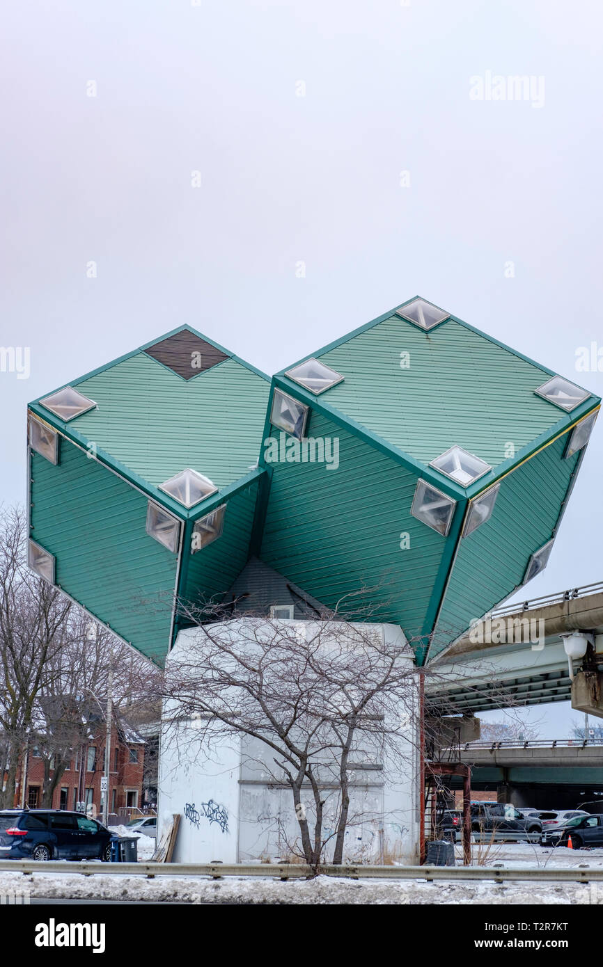 Container Haus Cube Cube House Stock Photos Cube House Stock Images Alamy