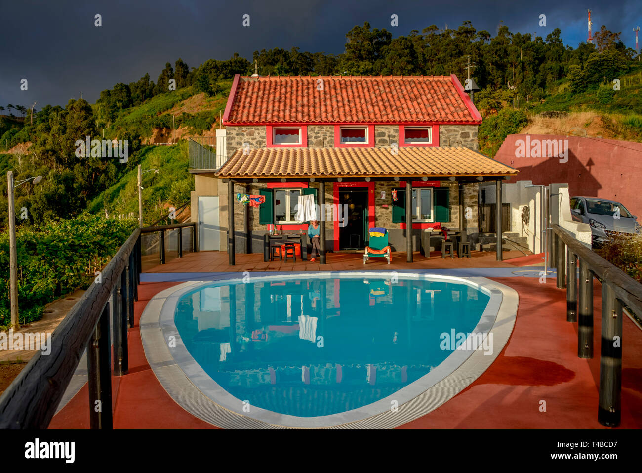Ferienhaus Mit Pool Madeira Houses With Swimming Pools Stock Photos Houses With Swimming Pools