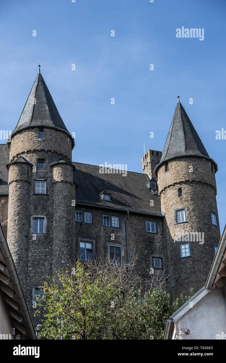 Golden Eye Herborn Castle Of The Seven Towers Stock Photos Castle Of The Seven
