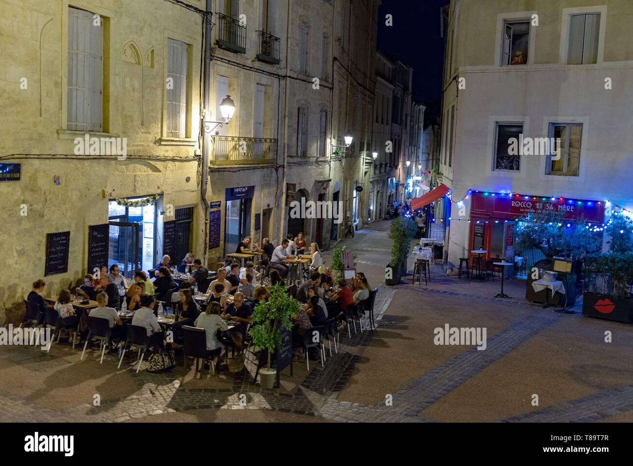Restaurant Oriental Montpellier Restaurant Roussillon South Stock Photos Restaurant Roussillon