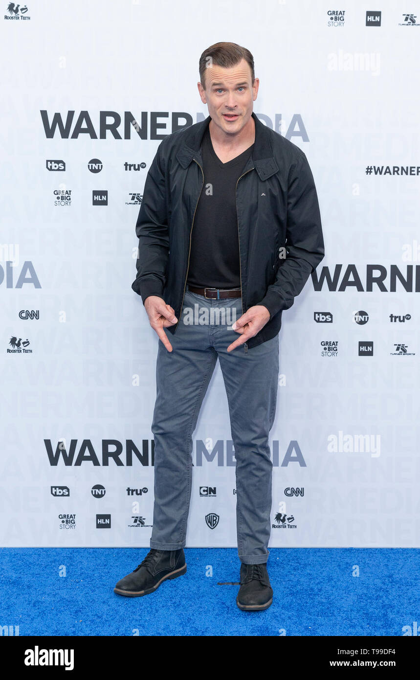 Gabriel Hogan Gabriel Hogan Attends Warnermedia Upfront 2019 Arrivals Outside Of