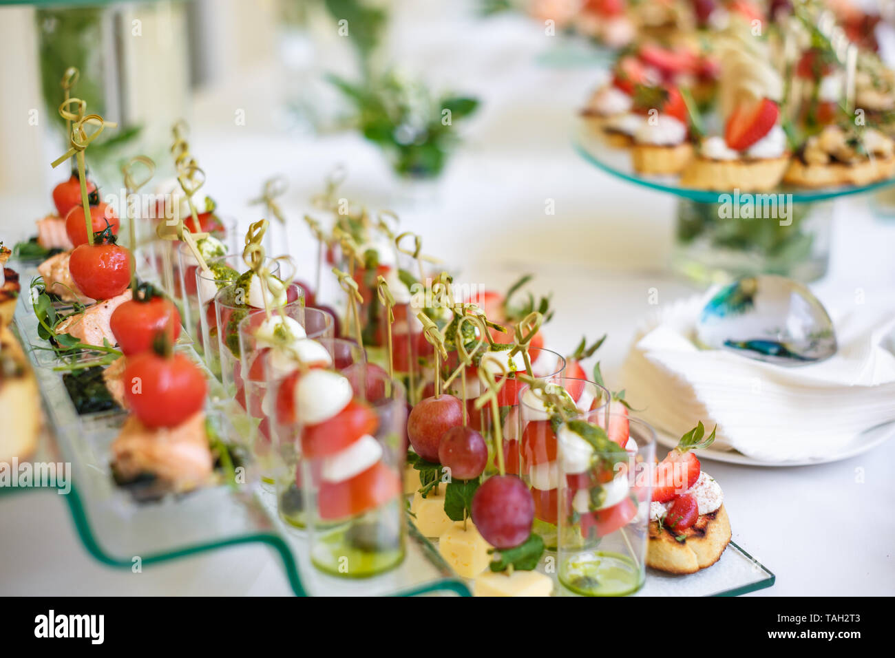 Canapés Wraps Canapes Sandwiches Stock Photos Canapes Sandwiches Stock Images