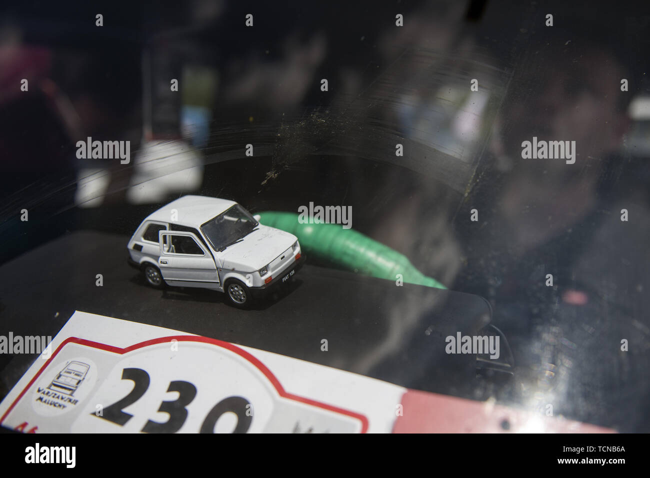Toddler Car Dashboard Warsaw Mazowieckie Poland 8th June 2019 A Model Of A