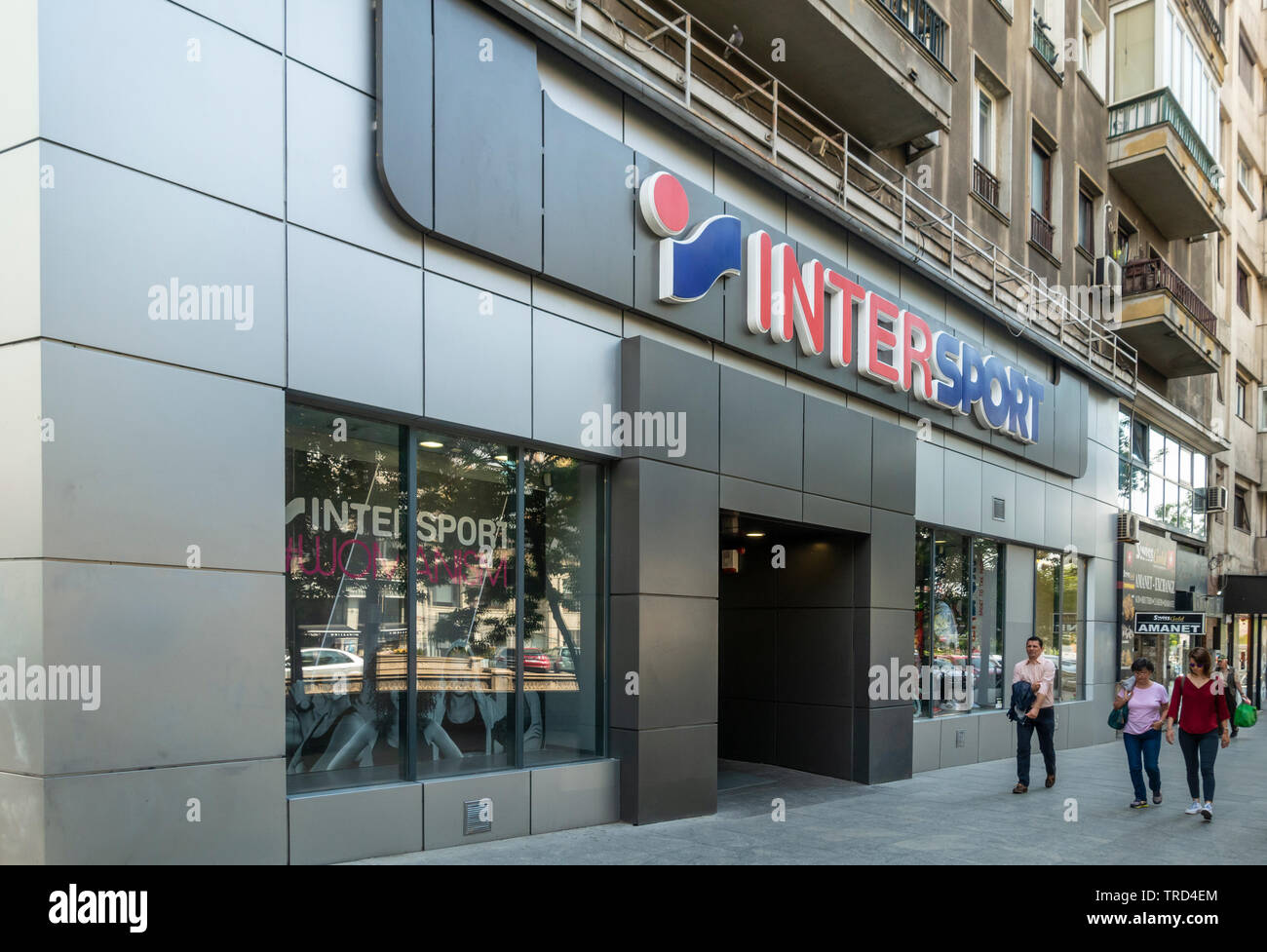 Intersport Salon Sporting Goods Stock Photos Sporting Goods Stock Images Alamy