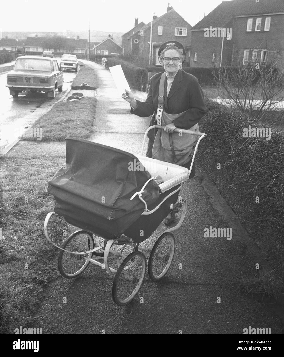 Baby Prams Newry Estate Black And White Stock Photos Images Alamy