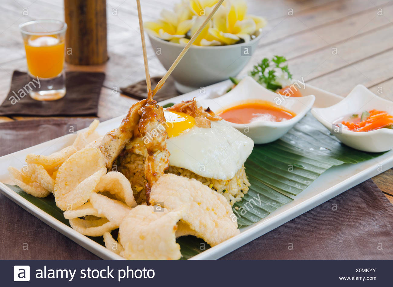Cuisine Bali Nasi Goreng Indonesian Fried Rice Indonesian Cuisine At A