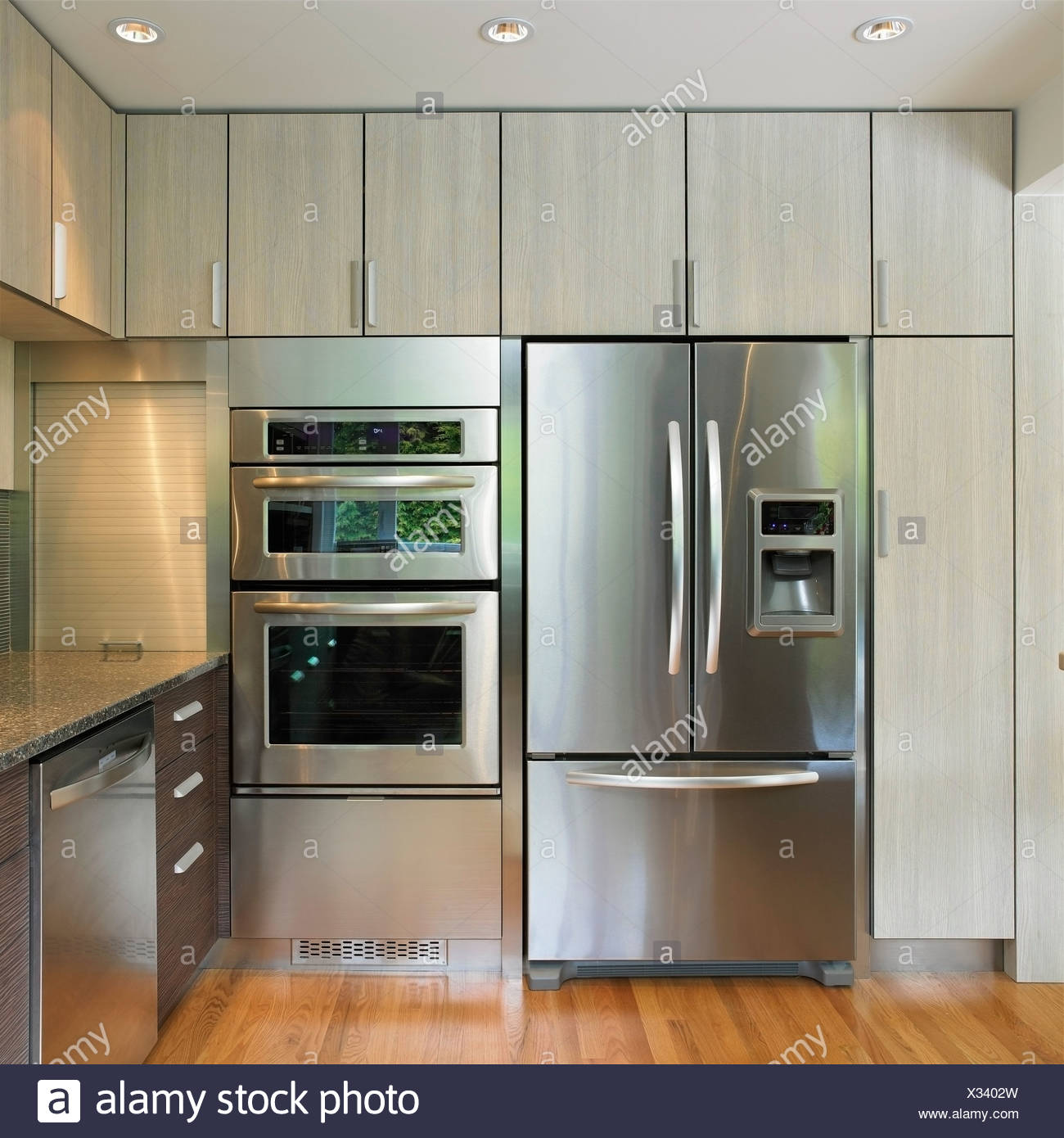 Fridges Canada Kitchen Wall Featuring Built In Fridge And Wall Oven Victoria