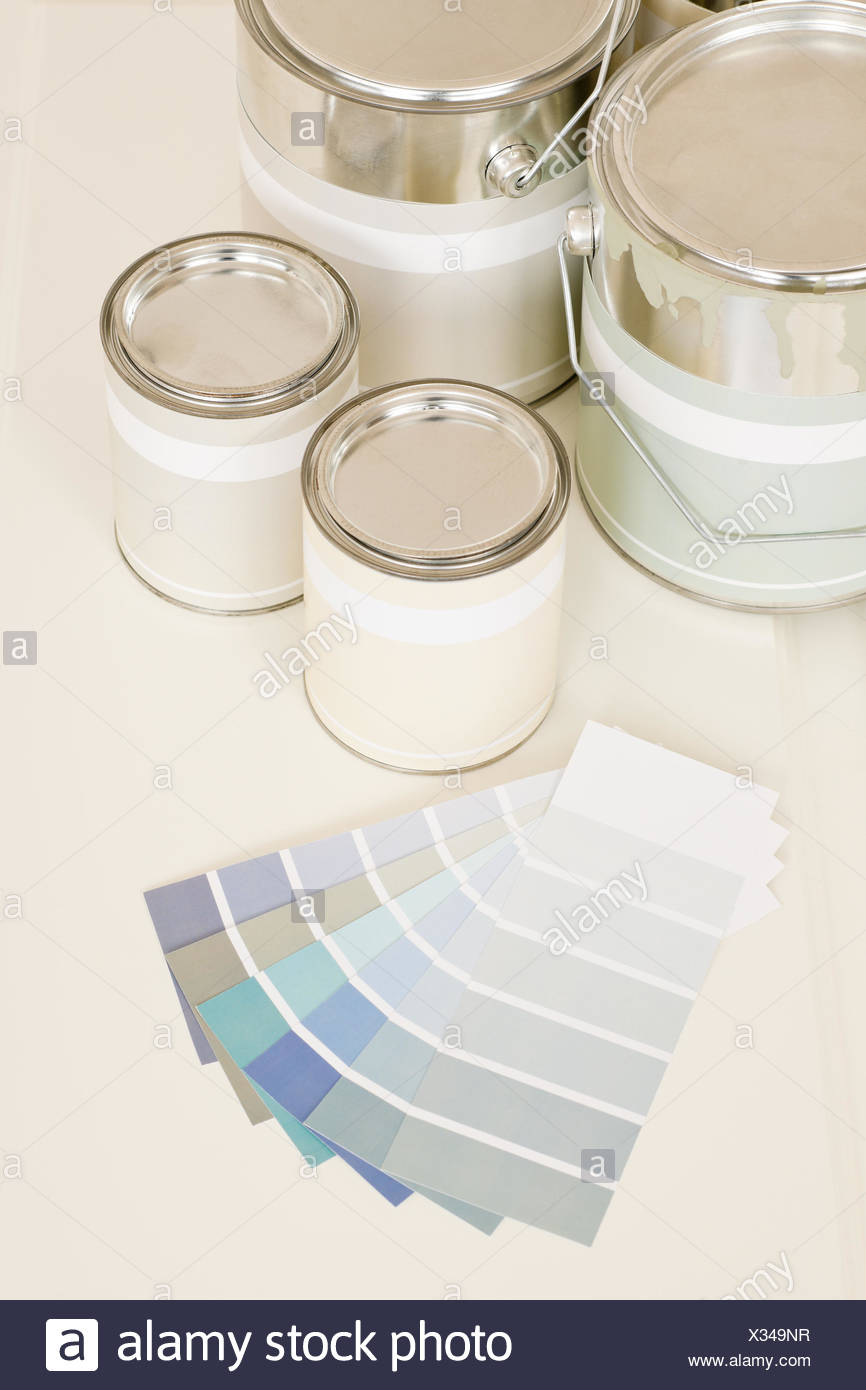 Palette Decoration Interior Decoration Test Checking Testing Sample Can Choice