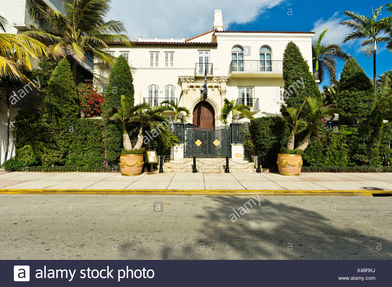 Deco Maison Usa Casa Casuarina Versace Mansion Ocean Drive South Beach Art