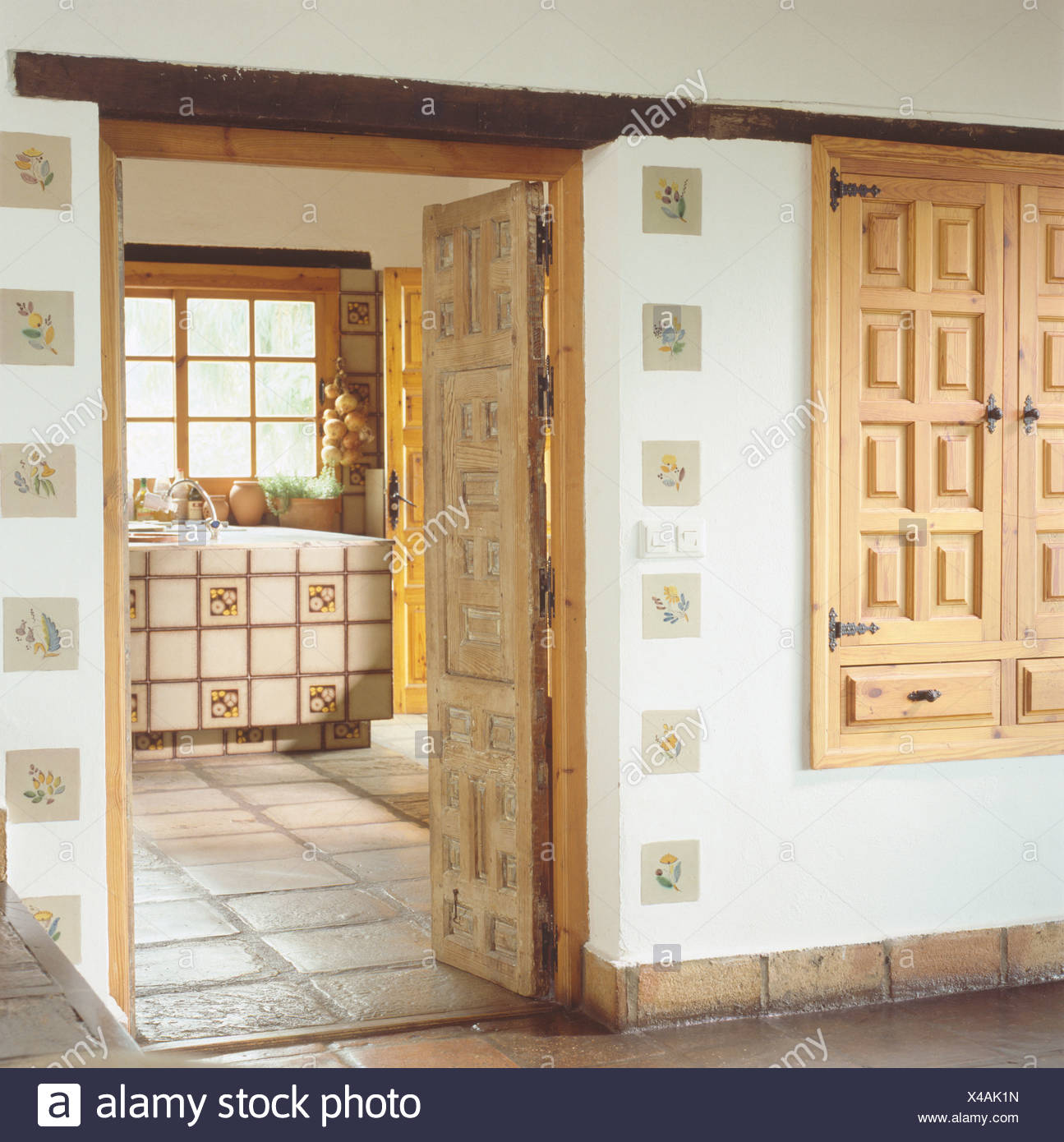 Kitchen Open Door Design Carved Wooden Cupboard Doors In Country Hall With Door Open Door To