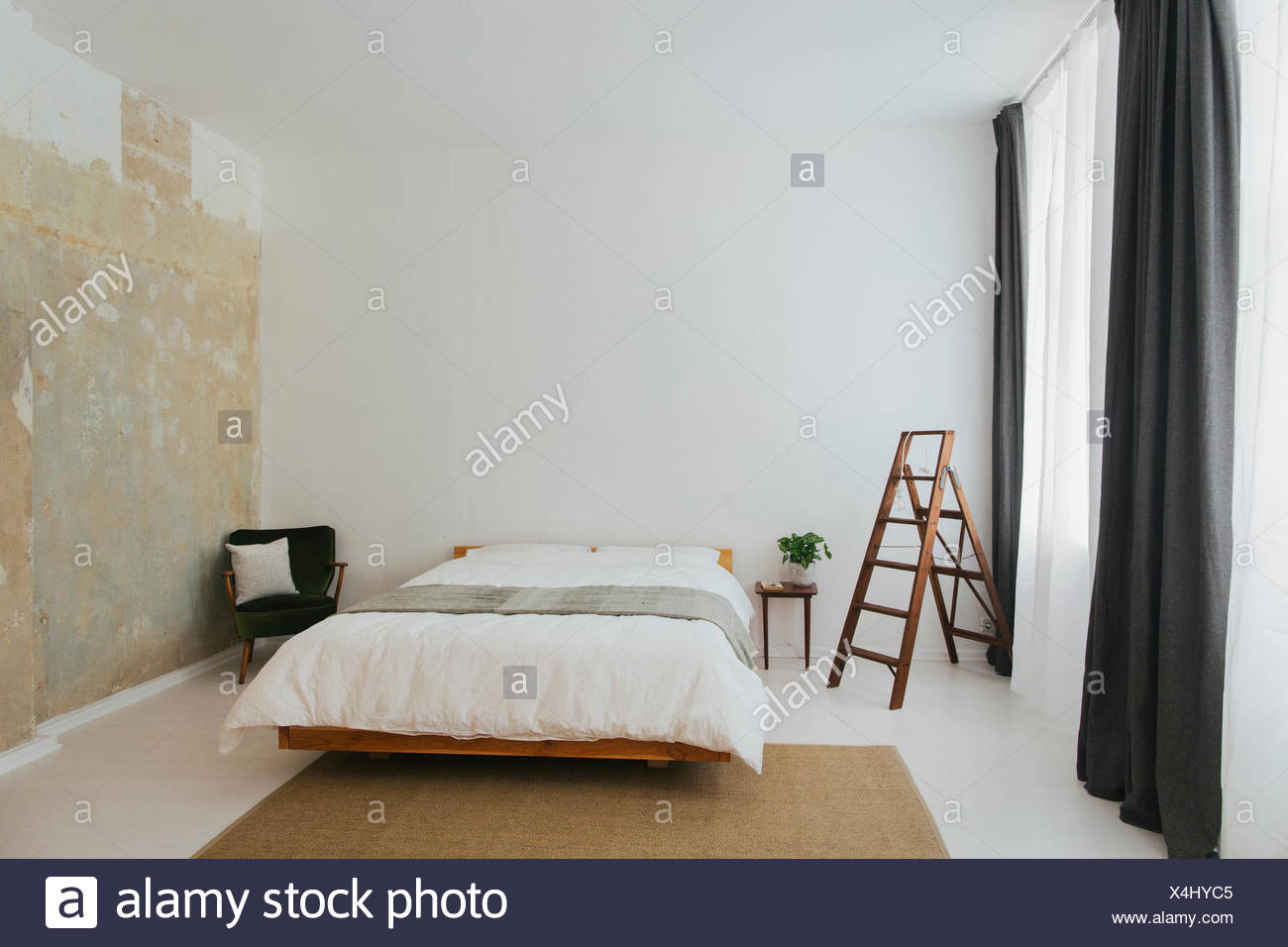 Scandinavian Furniture Bed Scandinavian Furniture Stock Photos Scandinavian Furniture Stock