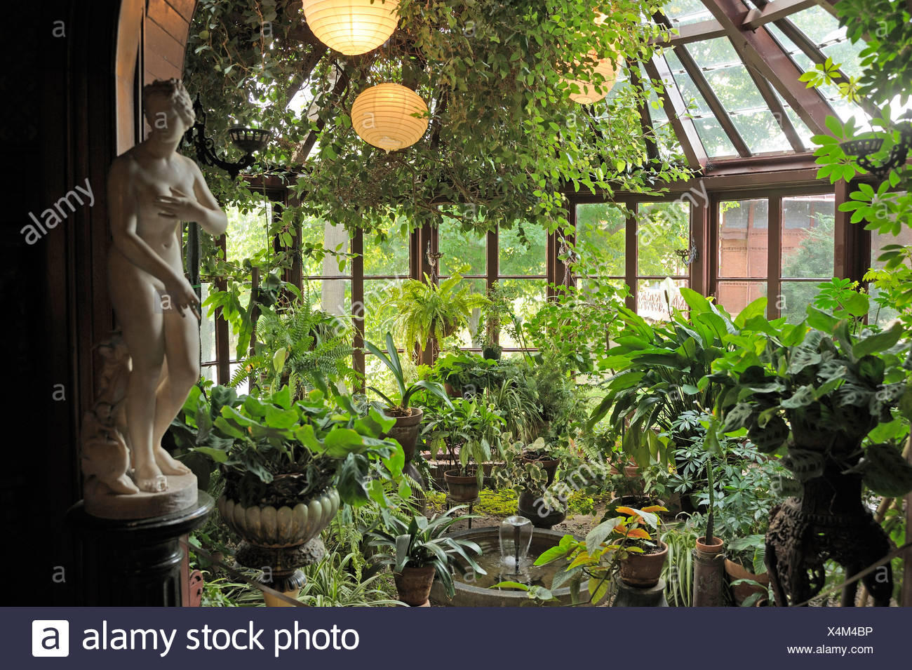 Pflanzen Für Den Wintergarten Conservatory Mark Twain House Interior Hartford Connecticut