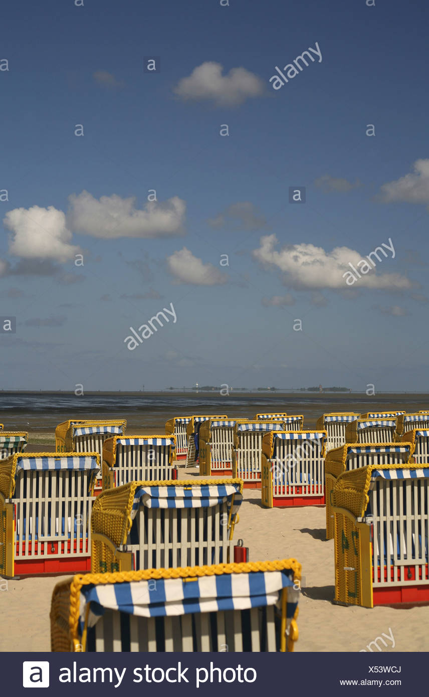Shabby Chic Cuxhaven Wicker Look Stock Photos Wicker Look Stock Images Alamy
