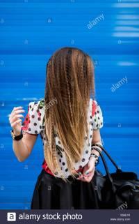 Braided Hair Style Stock Photos & Braided Hair Style Stock ...