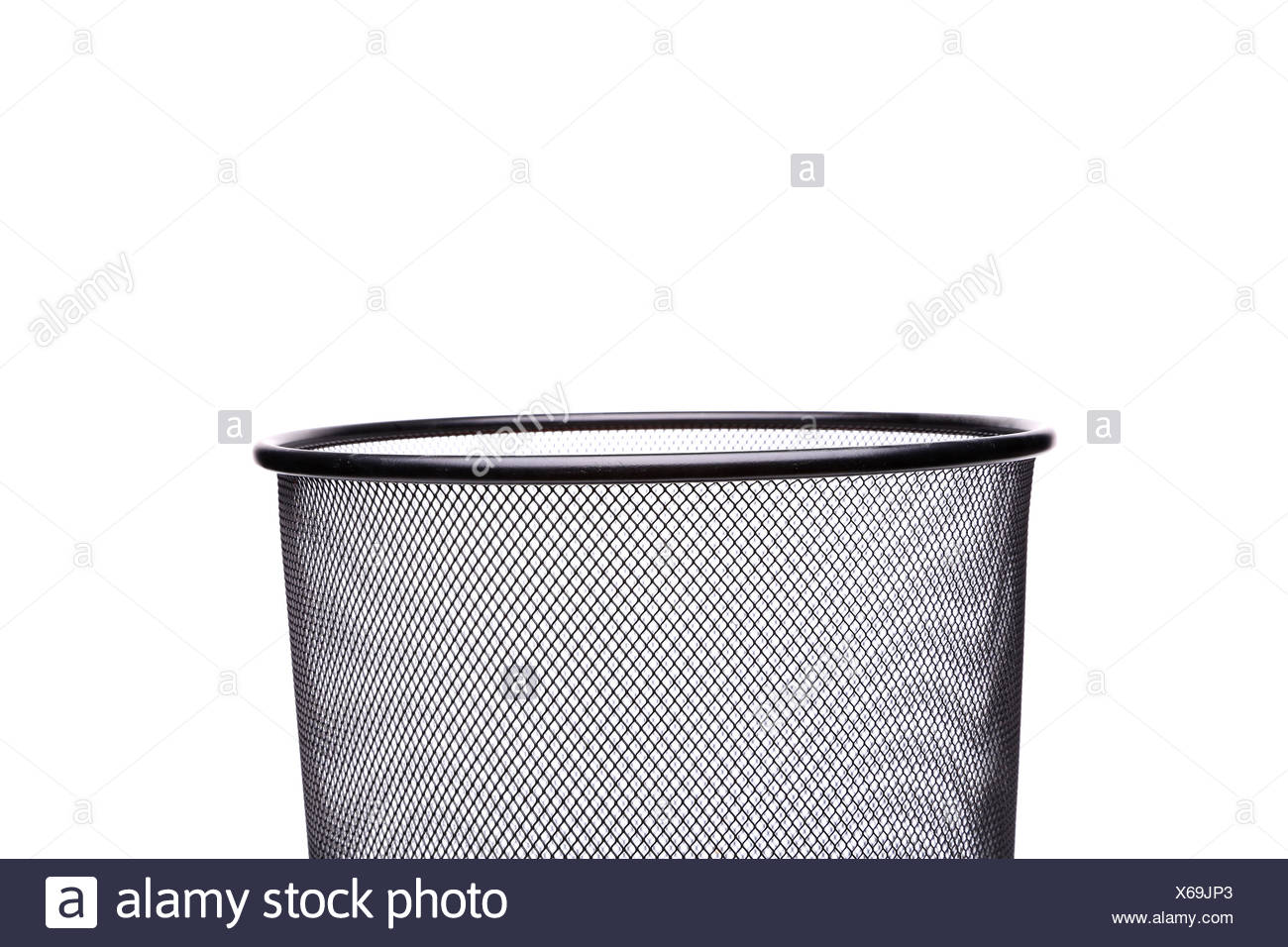 Rattan Muelleimer Waste Trash Can Rubbish Stock Photos Waste Trash Can Rubbish