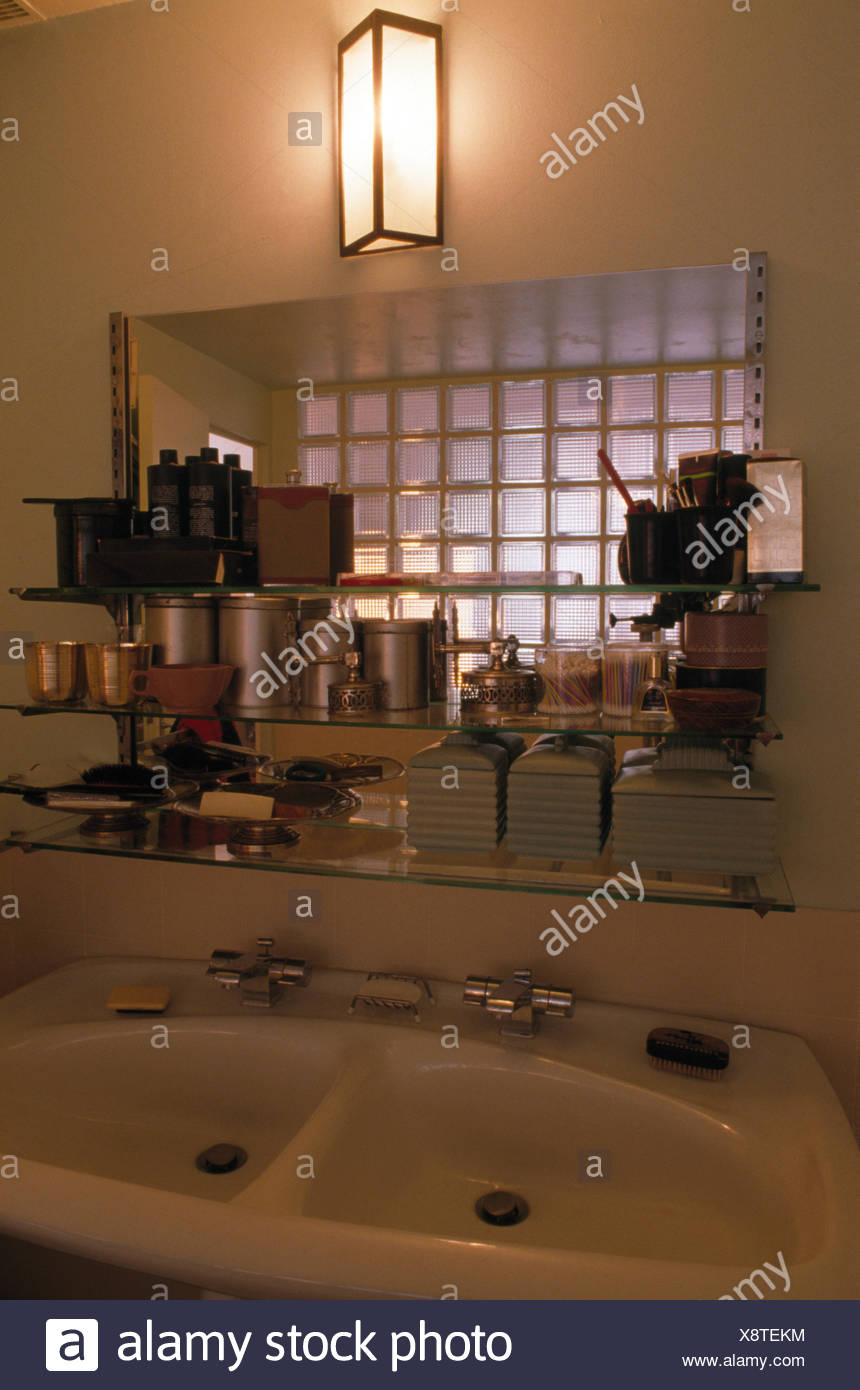 Art Deco Style & Light Art Deco Bathroom Stock Photos Art Deco Bathroom Stock