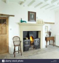 Chair Chairs Fireplace Stock Photos & Chair Chairs ...