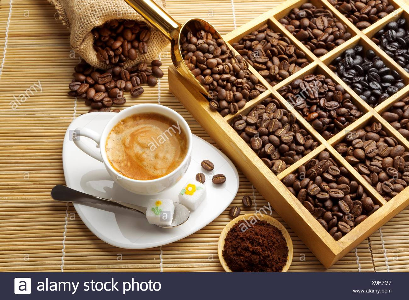 Costa Coffee Arabica Robusta Kenya Sugar Stock Photos And Kenya Sugar Stock Images Alamy