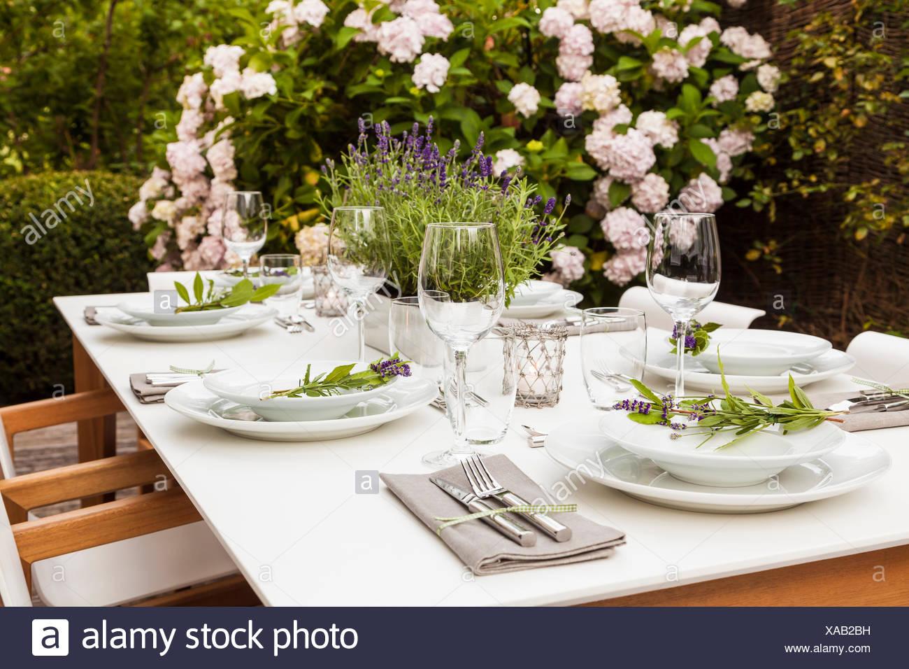 Lavendel Tischdeko Schleierkraut Rose Lavendel Tischdeko Selbst