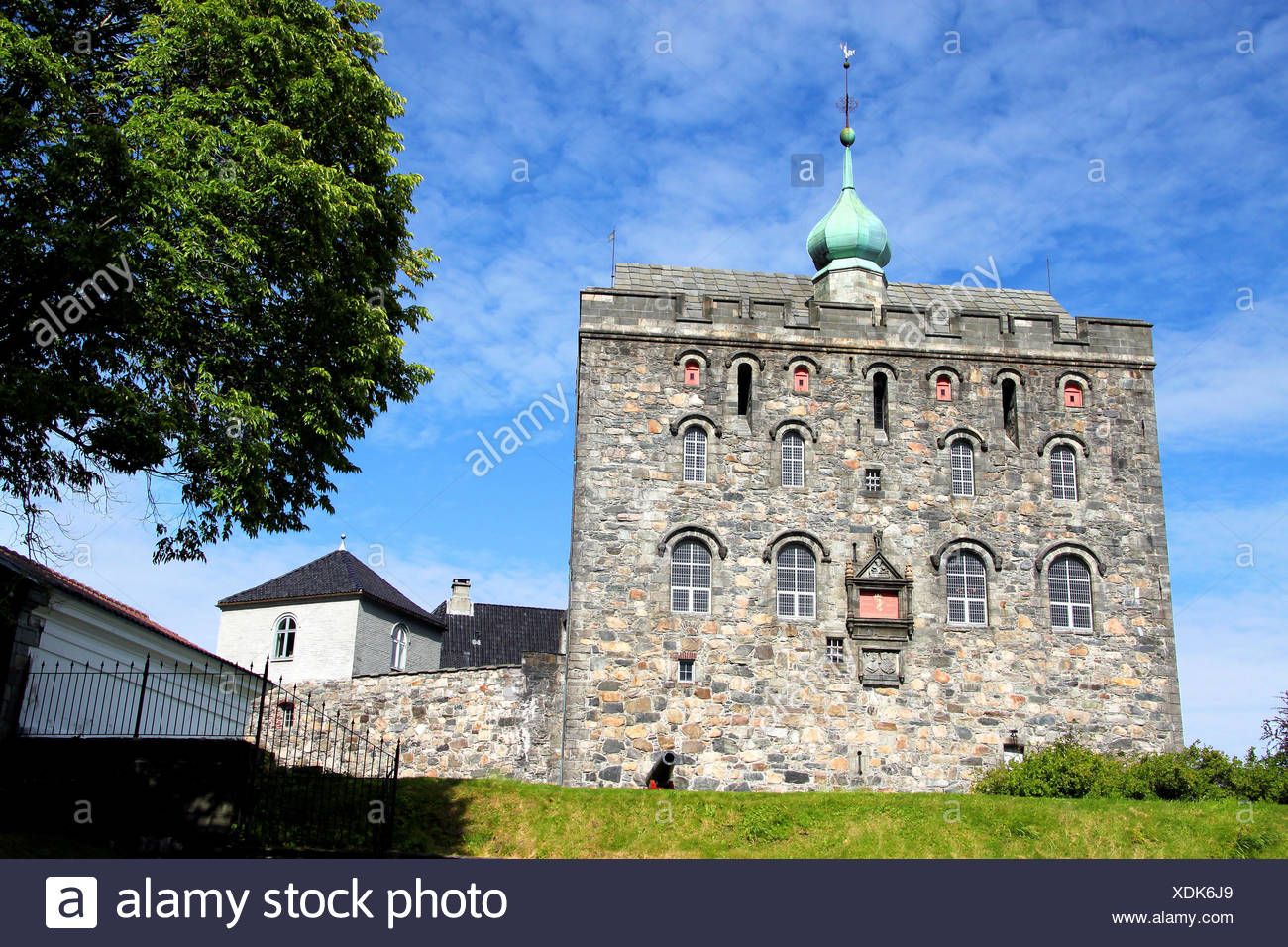 Sprossenfenster Wiki Bergenhus Fortress Stock Photo 283778721 Alamy