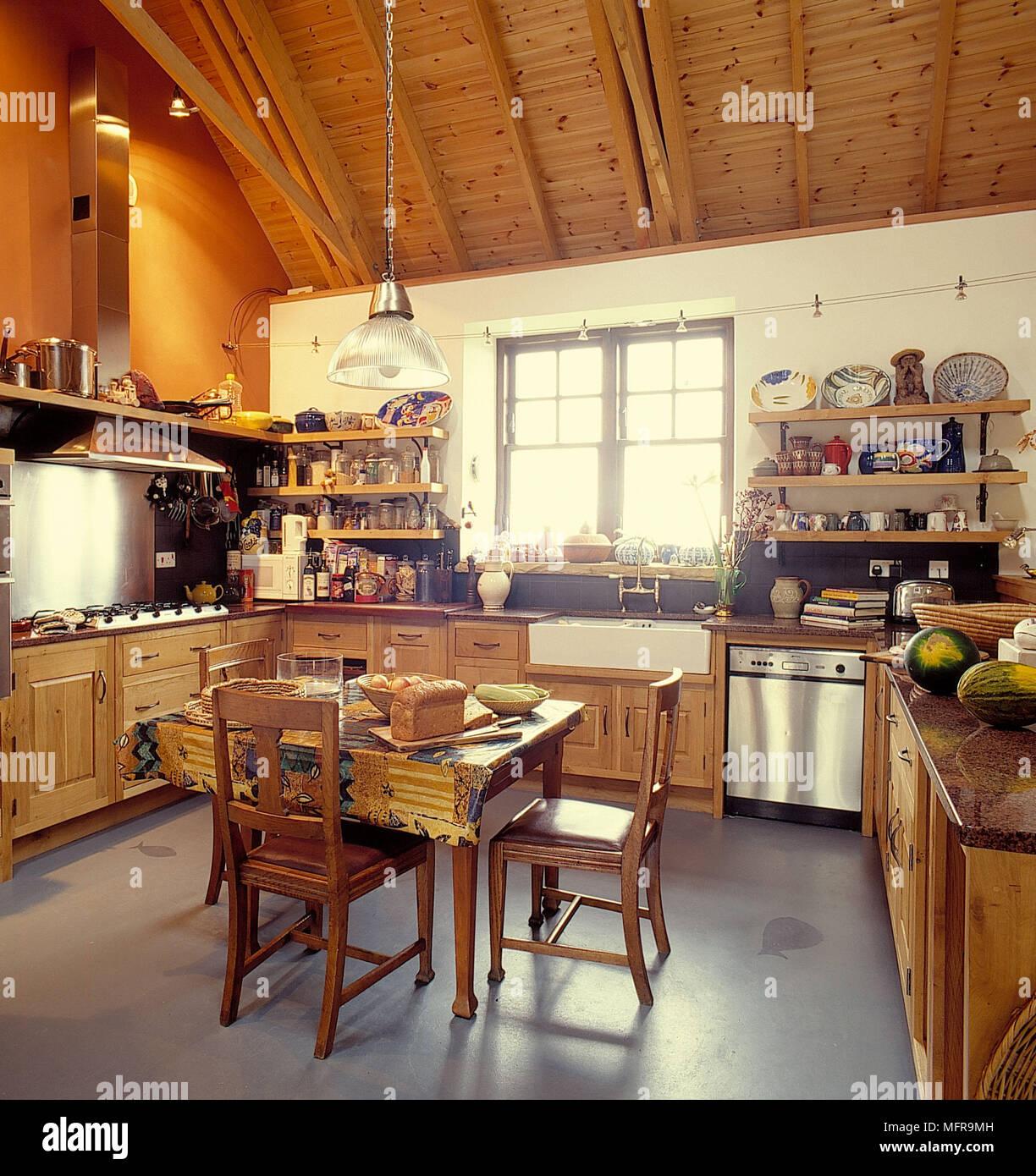 Wohnideen Mit Dachschräge In Küche Bad