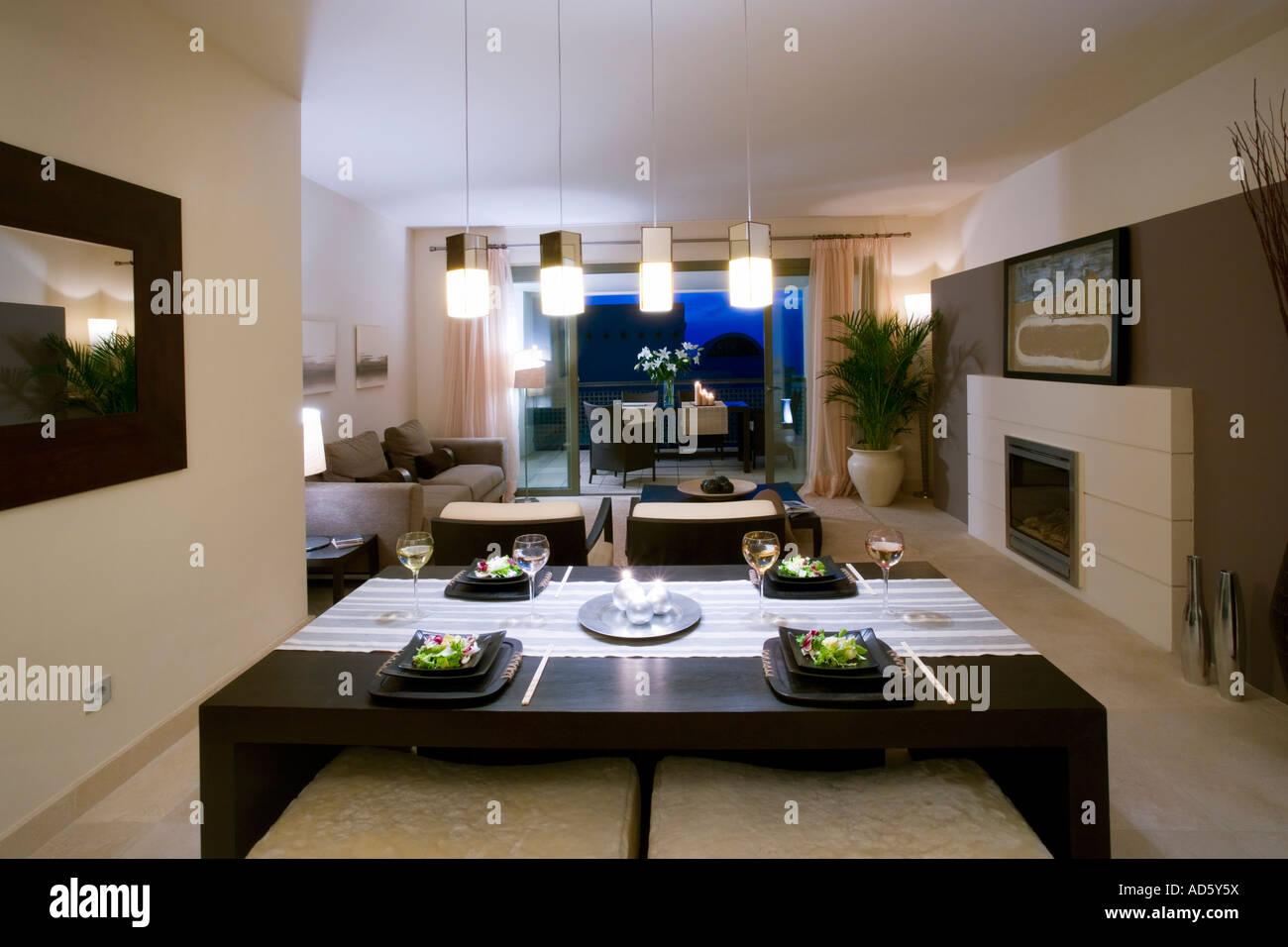 Offene Küche Mit Wohnzimmer Schöne Sonne Seite Wohnung Mit