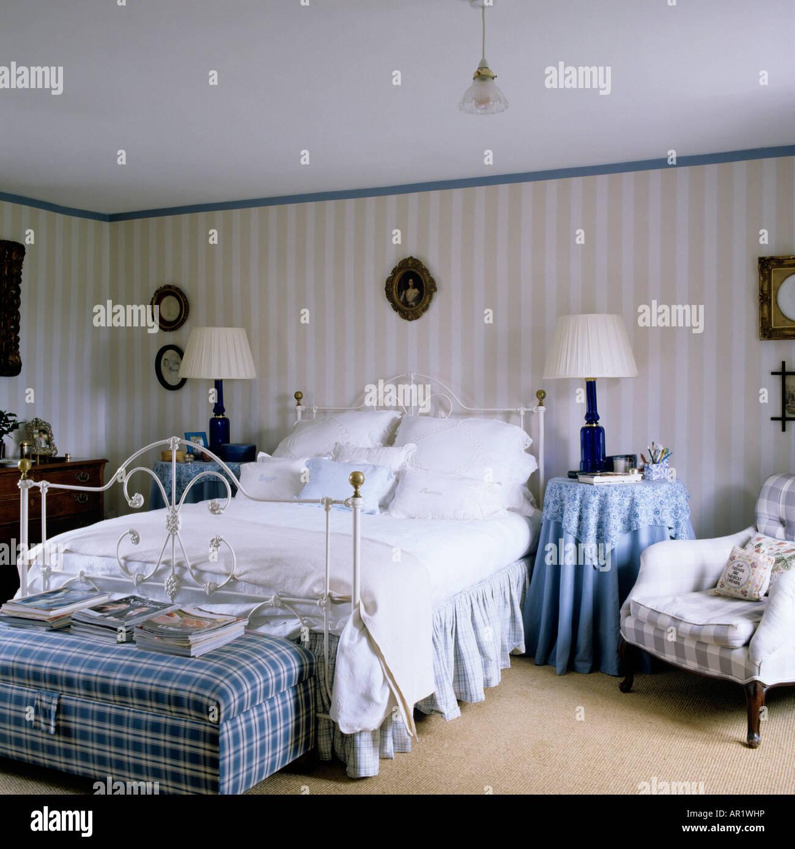 Merveilleux Tapeten Schlafzimmer Landhaus