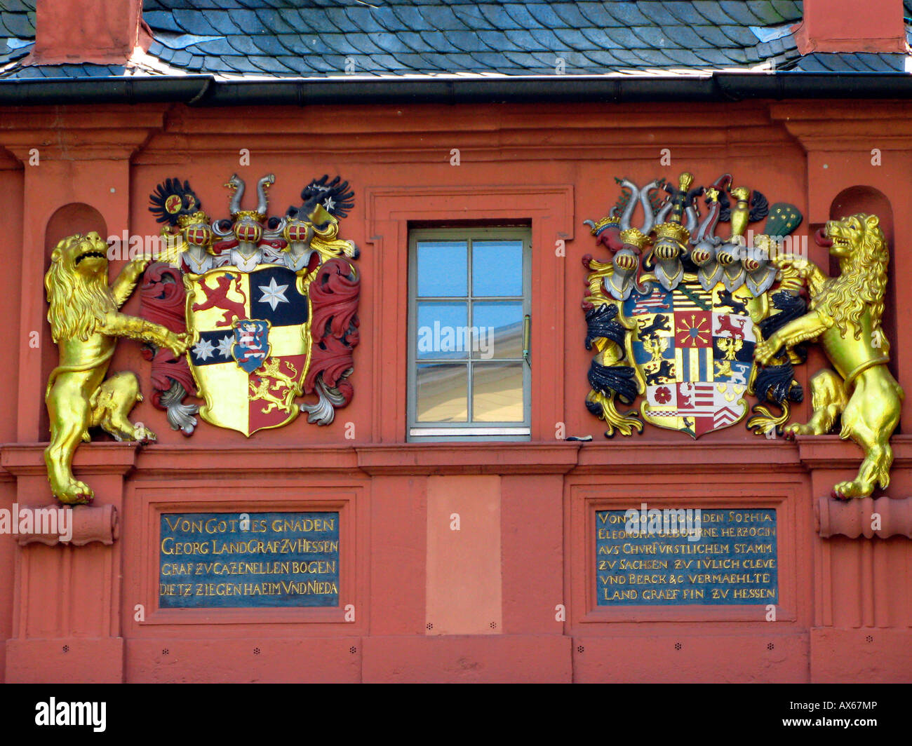 Hessische Küche Darmstadt Coat Arms Darmstadt Stockfotos Coat Arms Darmstadt Bilder Alamy