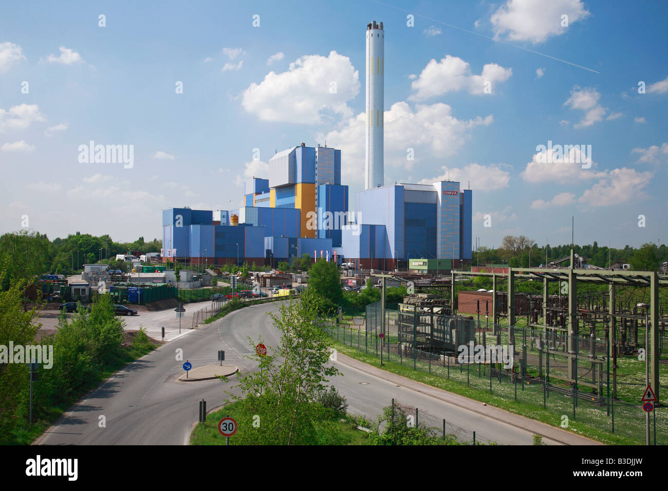 Am Kamin Oberhausen Incinerator Germany Stockfotos And Incinerator Germany
