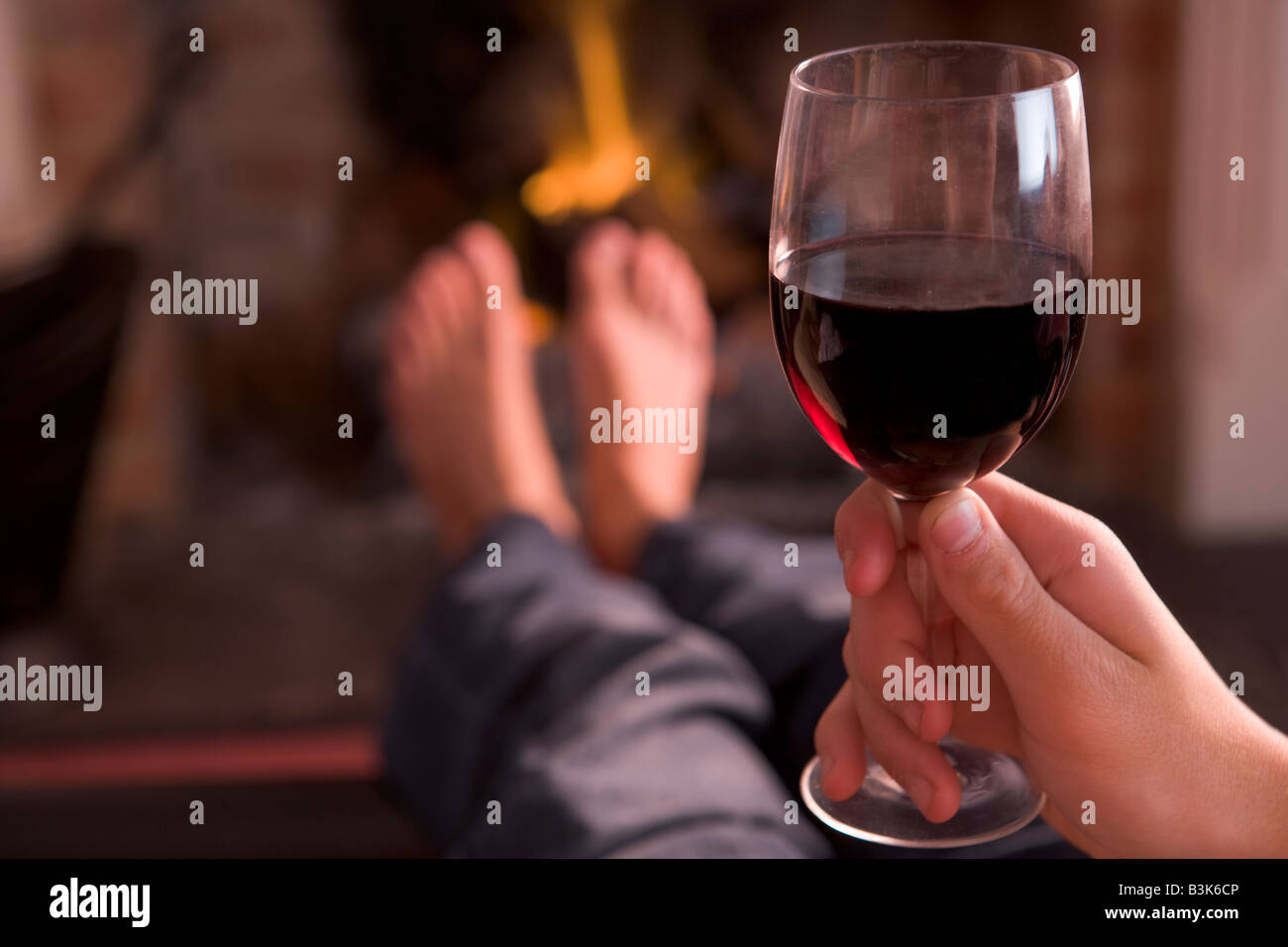 Riesling Am Kamin Weinkarte Wine Open Fire Stockfotos And Wine Open Fire Bilder Alamy
