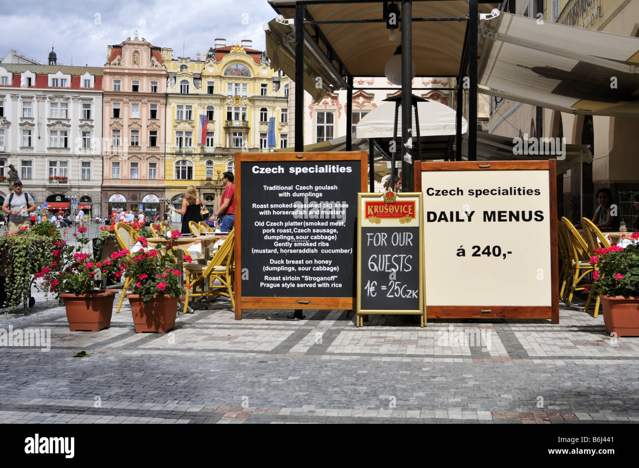 Prag Restaurants Böhmische Küche Czech Cuisine Stockfotos And Czech Cuisine Bilder Alamy