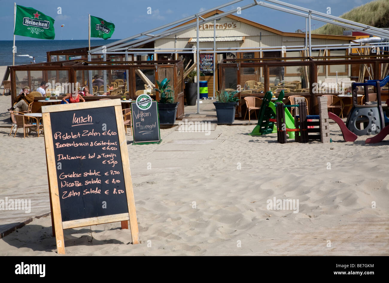 Scheveningen Beach Restaurants Scheveningen Cafe Stockfotos Scheveningen Cafe Bilder Alamy