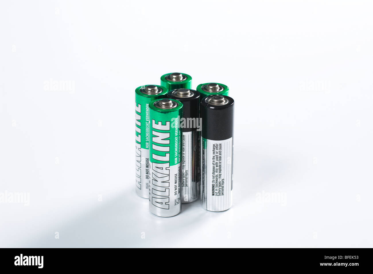 Aa Batterien Aa Batterien Stockfoto Bild 26752575 Alamy