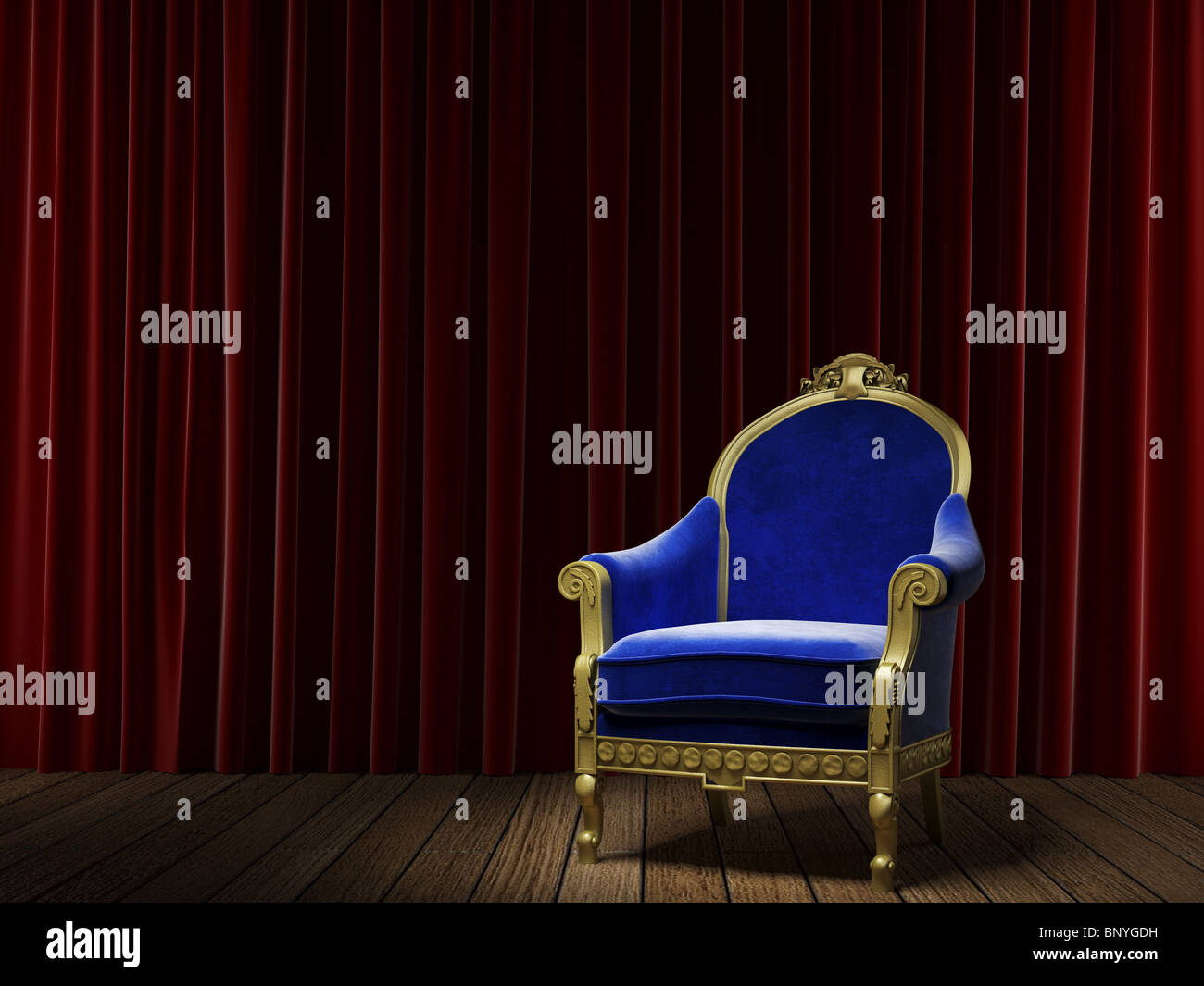 Samtvorhang Rot Blue Velvet Chair Stockfotos And Blue Velvet Chair Bilder