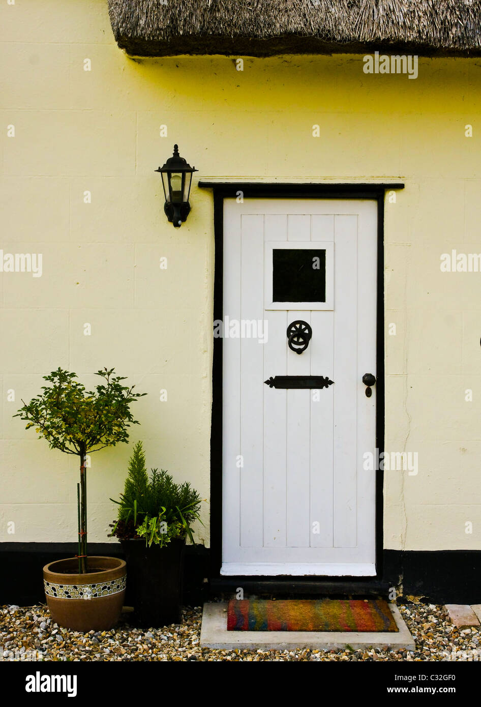 Haustür Landhausstil Front Door Country Cottage Door Stockfotos Front Door