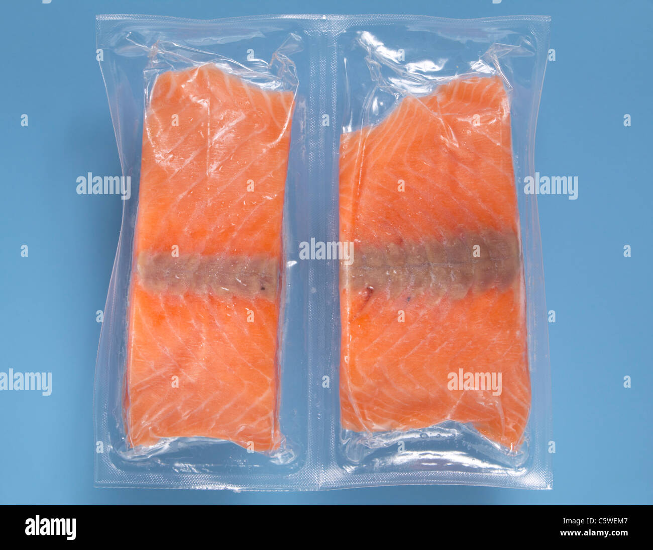 Gefrorener Lachs Packed Stockfotos And Packed Bilder Alamy