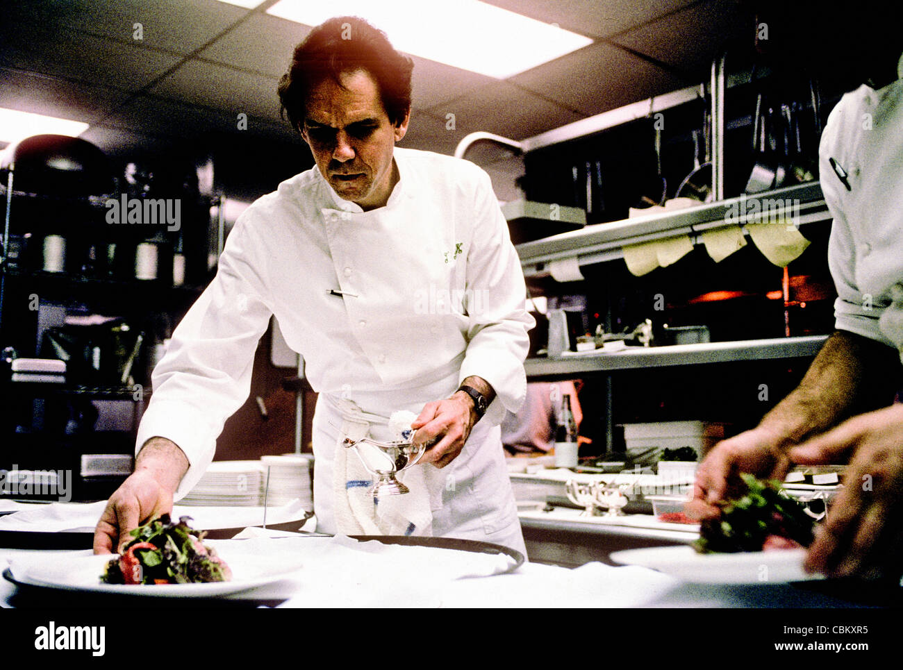 Amerikanische Küche Chefkoch The French Laundry Stockfotos And The French Laundry Bilder