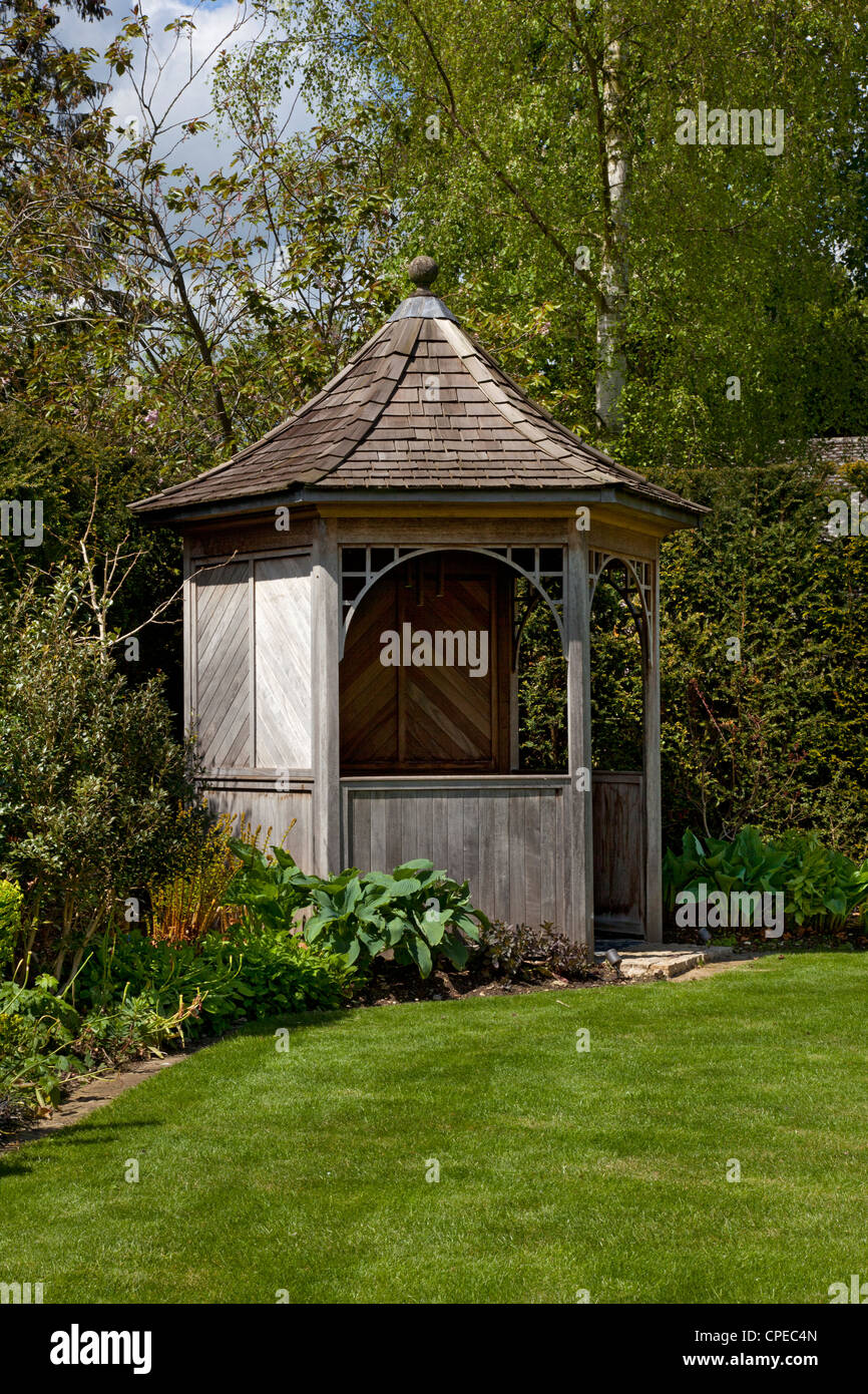 Holzpavillon Zug Gazebo Stockfotos Gazebo Bilder Alamy