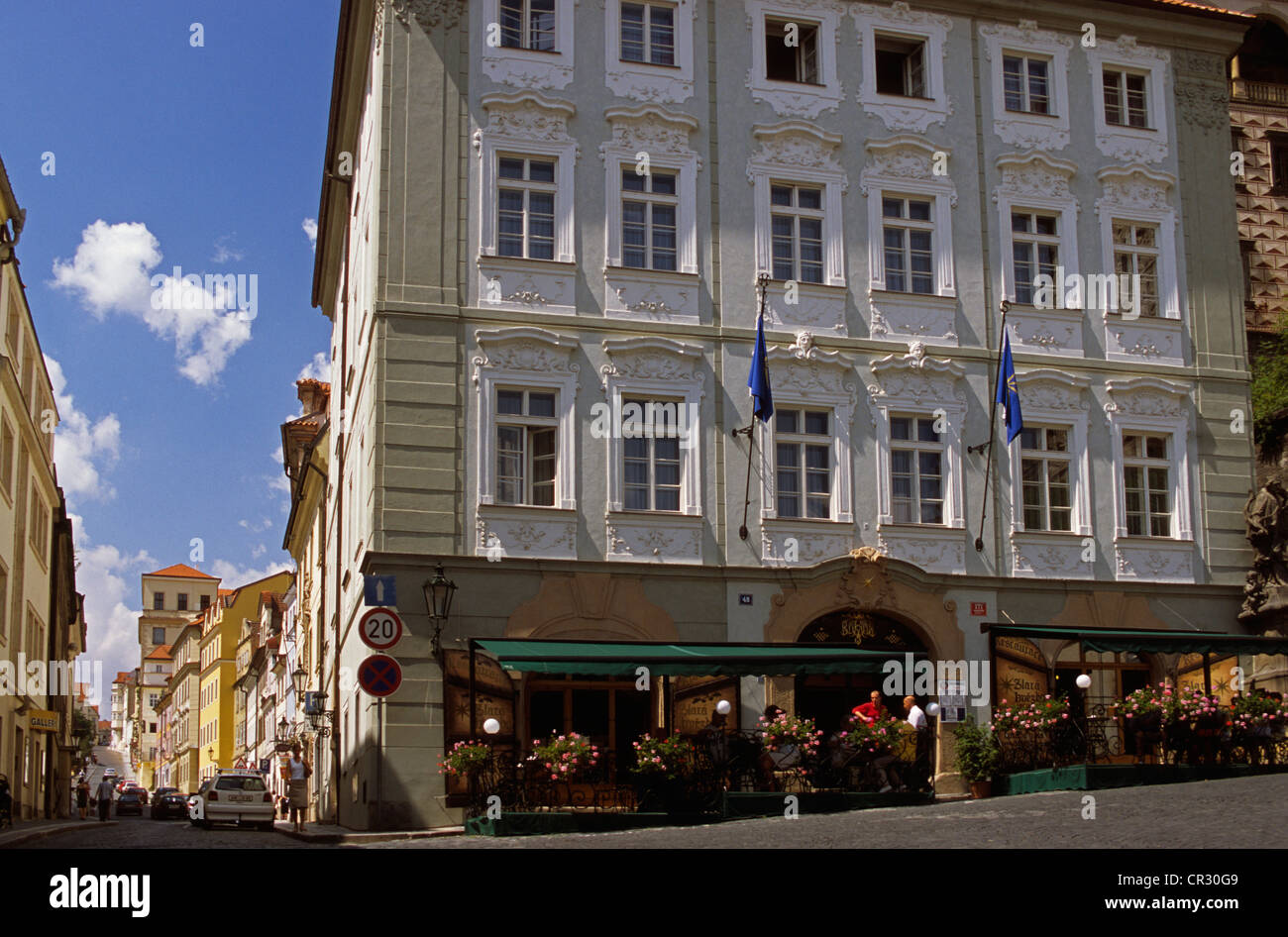 Czech Bohemian Restaurant Prague Stockfotos Und Bilder Kaufen Alamy
