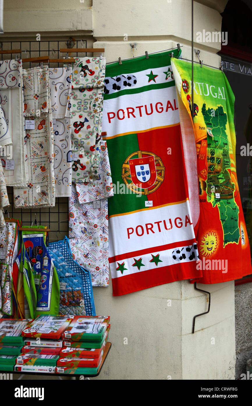 Serviette Portugal Craft Market Portugal Stockfotos Craft Market Portugal Bilder